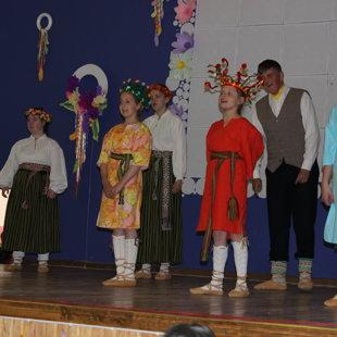 Lielpatones skolas skolēnu koncerts